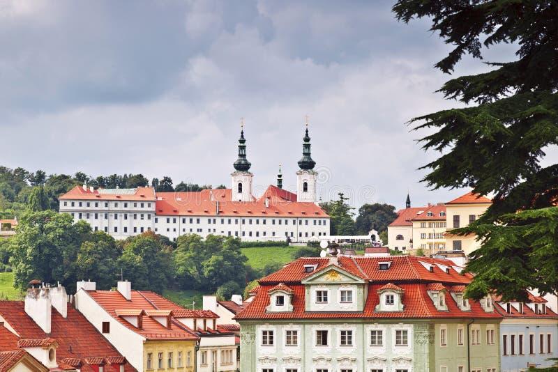 Strahov monaster, Praga, obrazy stock