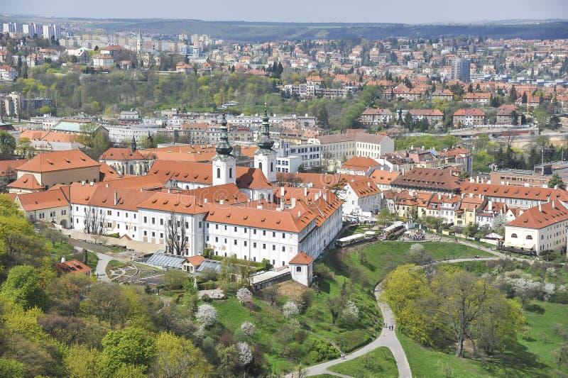 Strahov monaster w Praga zdjęcia stock