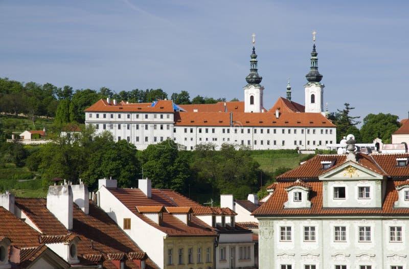 Download Strahovklooster - Praag stock afbeelding. Afbeelding bestaande uit bohemen - 54090023