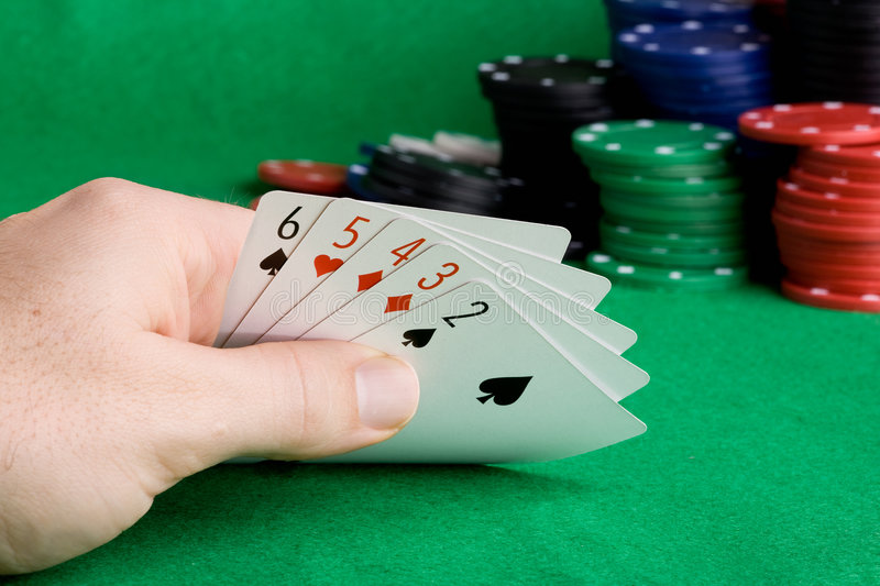 Download Straight stock image. Image of chip, poker, entertainment - 6984757
