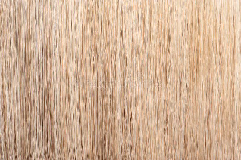 Straight blond hair background stock photography
