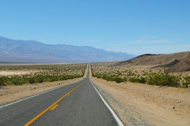 Download Straight Desert Road stock photo. Image of clouds, vacation - 23731710