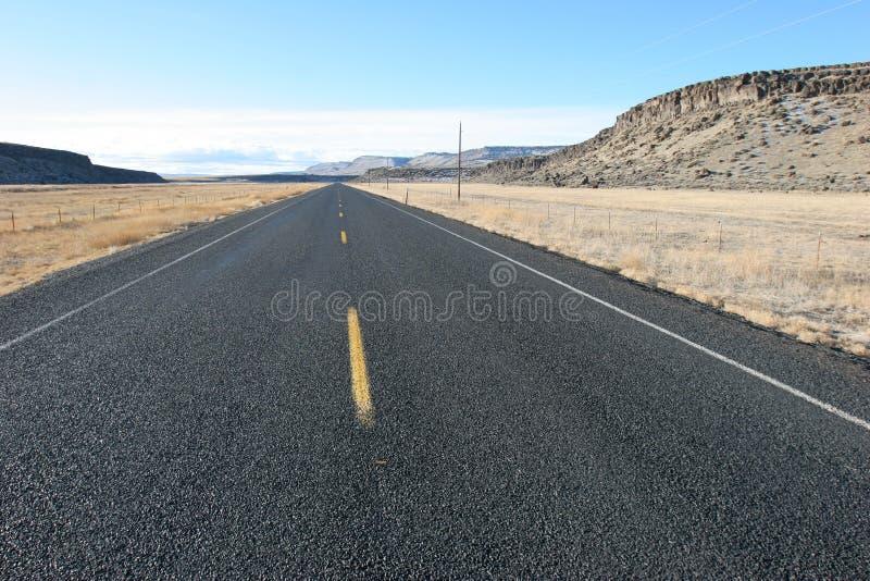 Straight Highway royalty free stock photo