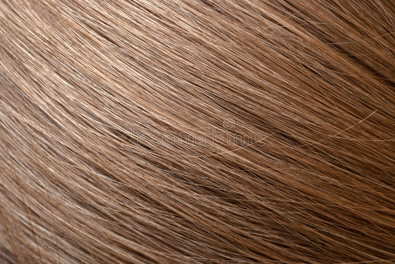 Straight light brown hair macro foto royalty free stock image