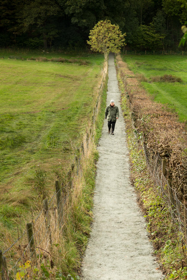 Free Straight, Narrow Path Stock Images - 34695984