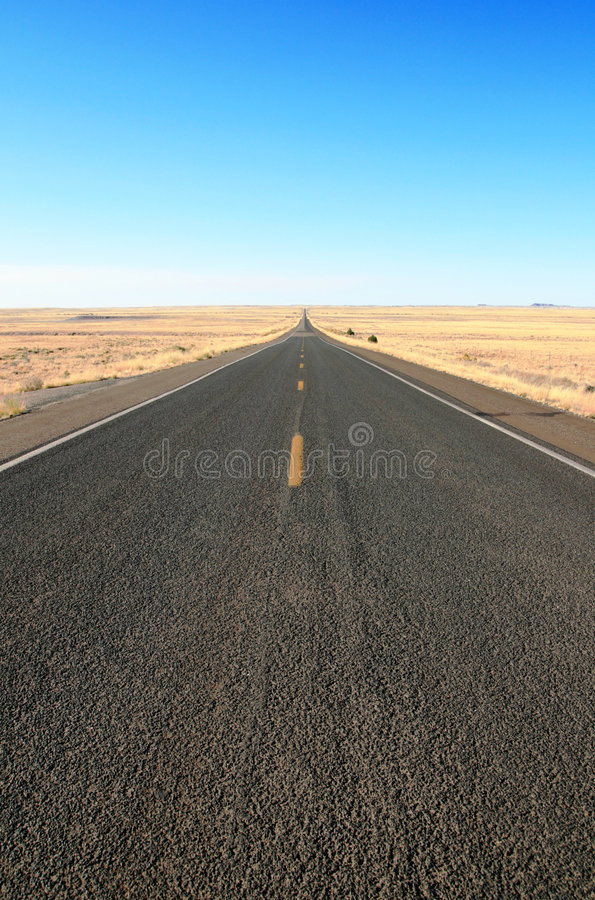 Download Straight Open Road Royalty Free Stock Image - Image: 7015086