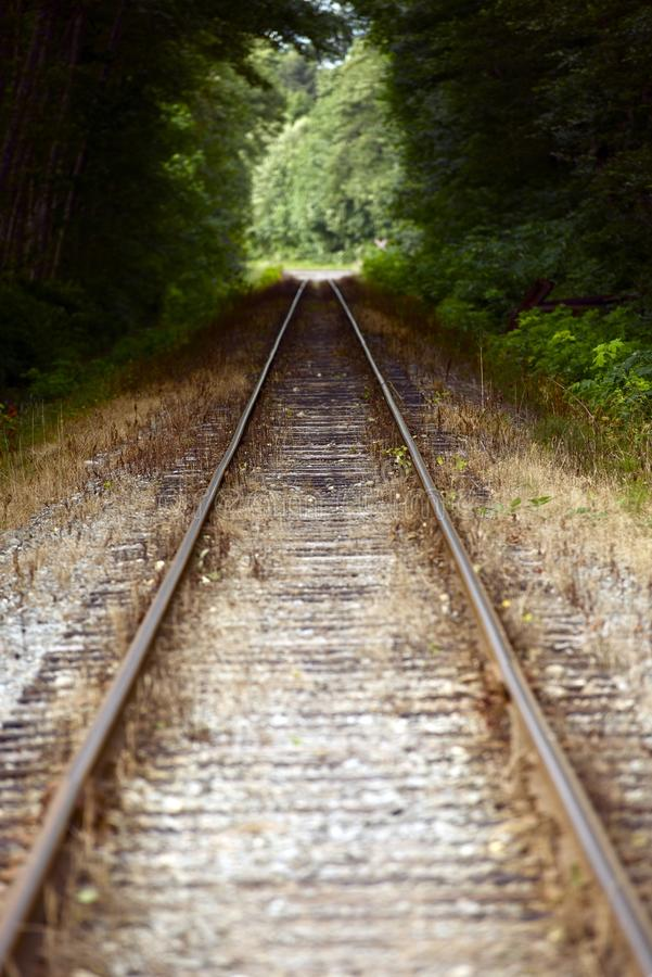 Download Straight Railroad Tracks stock photo. Image of columbia - 28948508