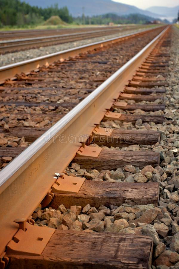 Download Straight railway stock image. Image of branch, detail - 10661785