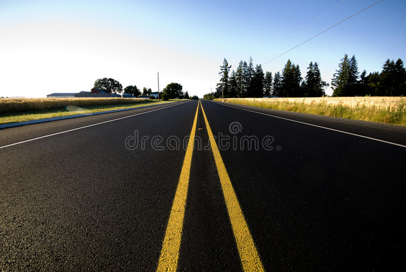 Download Straight road stock photo. Image of road, straight, clear - 15270602