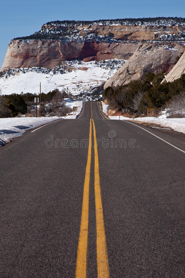 Download Straight road stock image. Image of tarmac, highway, line - 17588321