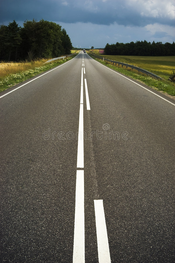 Download Straight road stock photo. Image of summer, rural, leading - 2974960