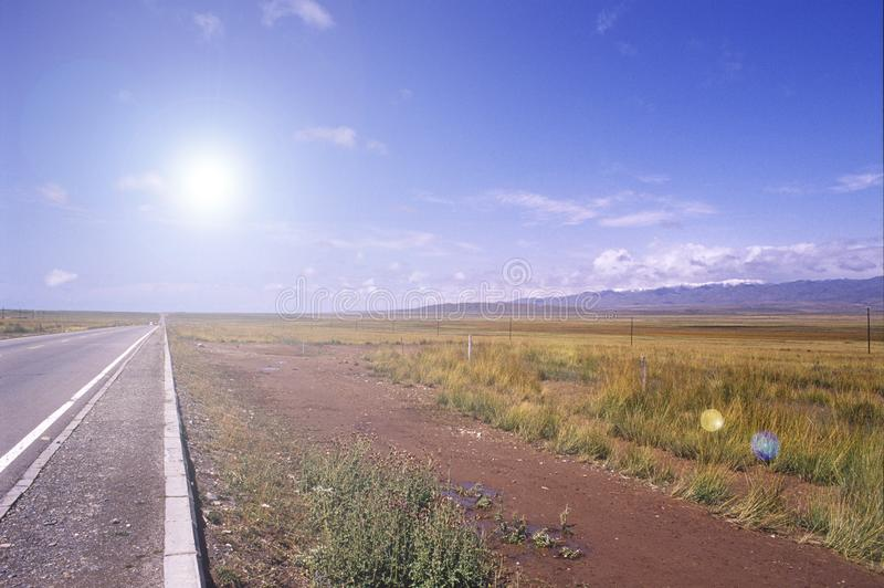 Download Straight road stock image. Image of destination, line - 8103679