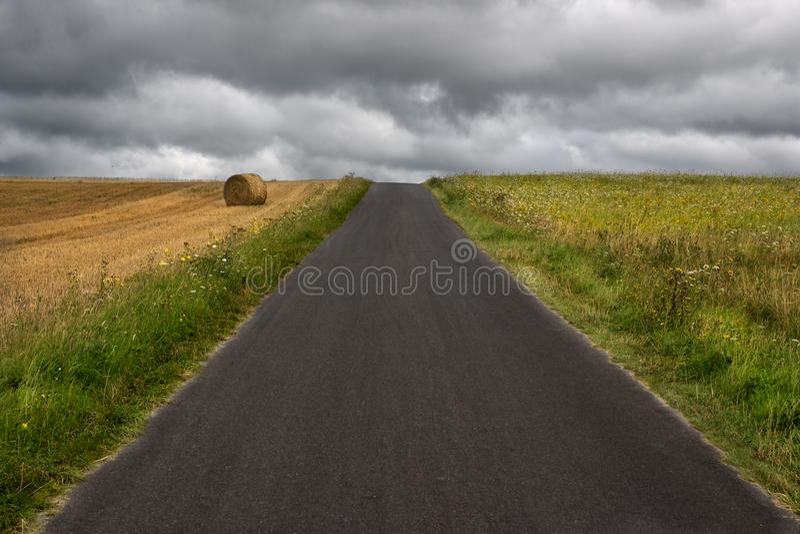 Straight road ahead