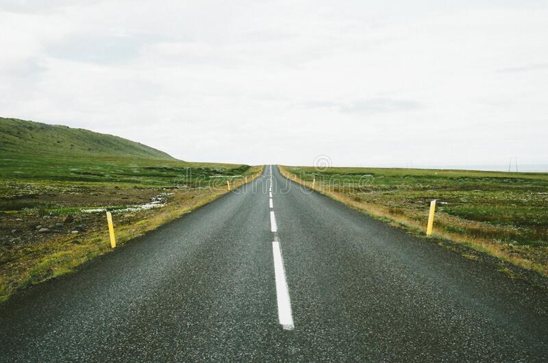 Straight Road In The Countryside Free Public Domain Cc0 Image