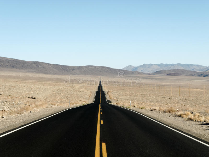 Download Straight road to adventure stock image. Image of distance - 25755945