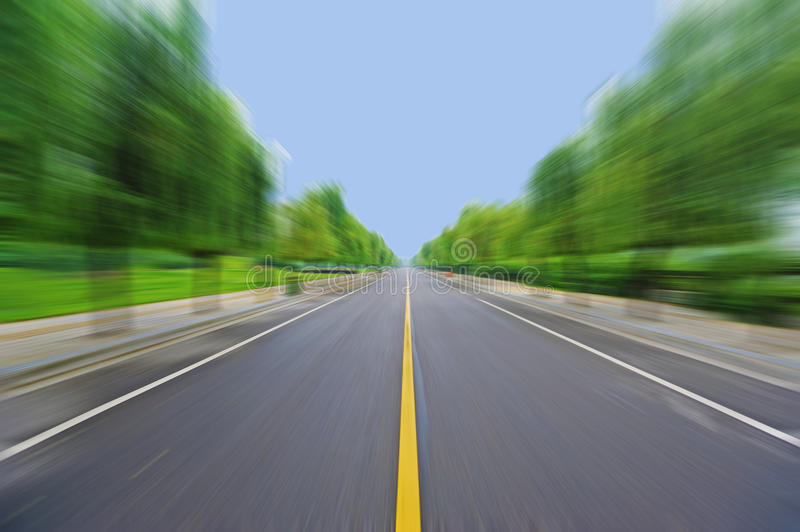 Download Straight Road Under Blue Sky Stock Image - Image: 20486295