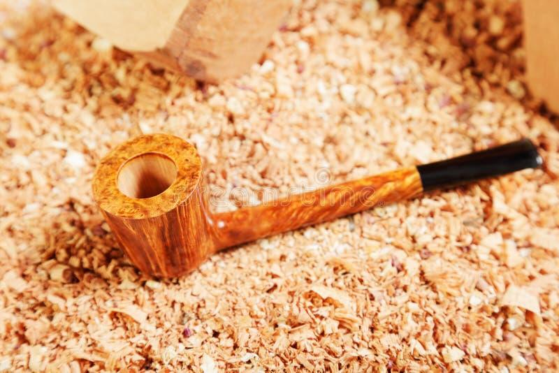 Download Straight smoking pipe stock image. Image of closeup, selective - 18688137