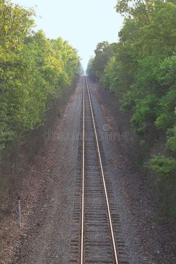 Download Straight Train Track Stock Photo - Image: 2623950