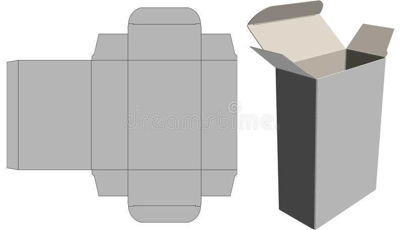 Download Straight Tuck Carton Royalty Free Stock Images - Image: 36338119