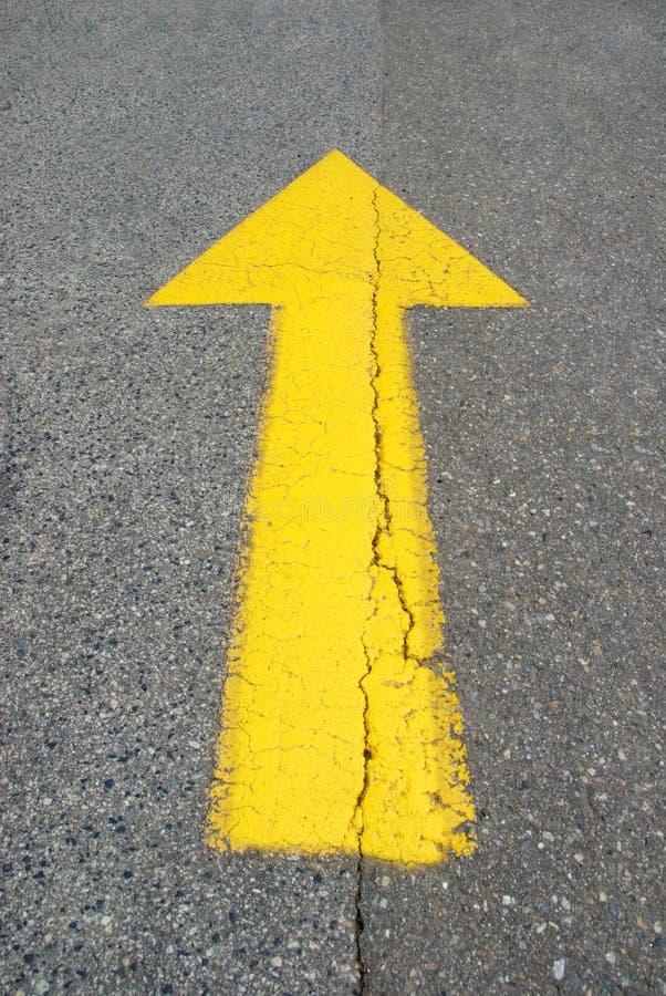 Free Straight Up Arrow Stock Photography - 14770552