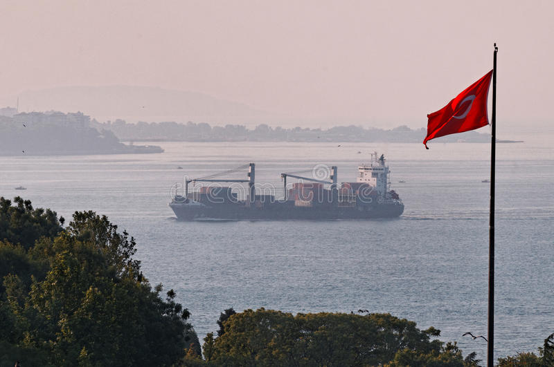Strait of Bosphorus stock image