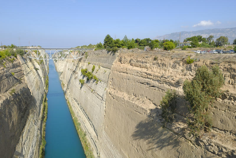 Strait Of Corinth Royalty Free Stock Photography