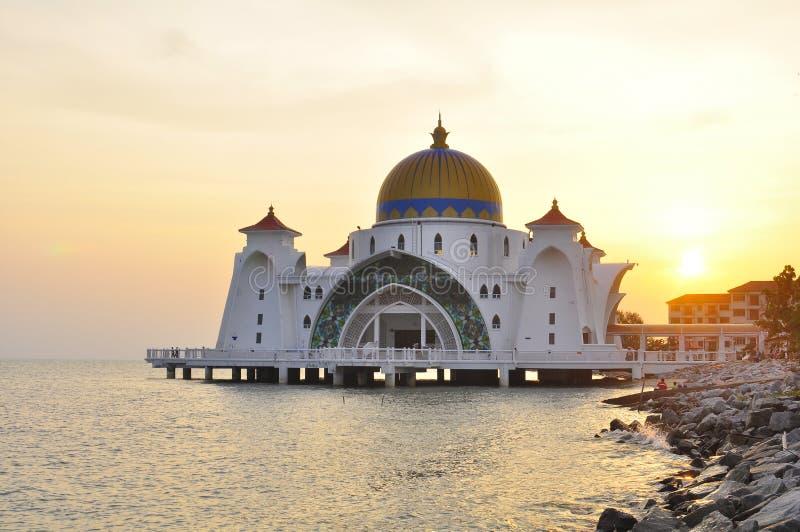 Download Straits Mosque, Melaka stock photo. Image of islamic - 20718354