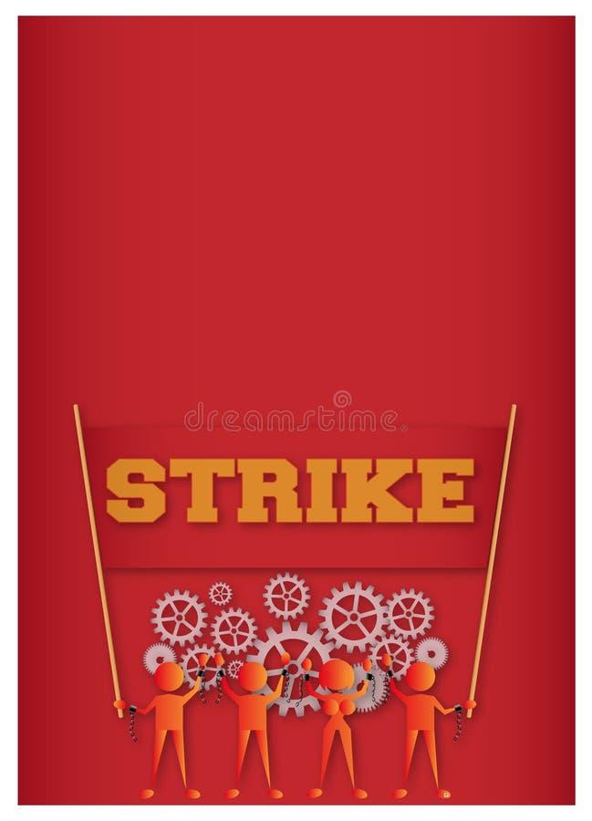 strajk ilustracji
