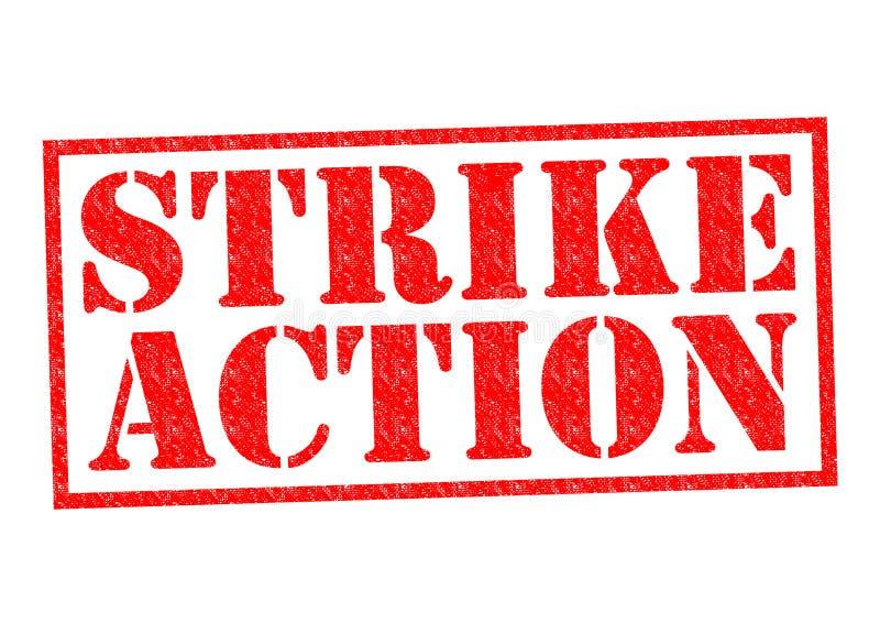 Strajkowa akcja ilustracja wektor