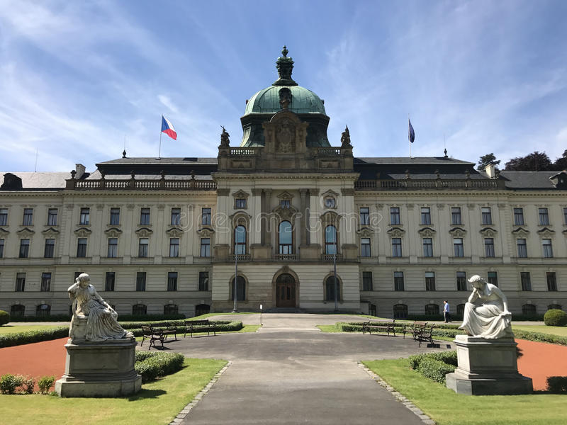 Strakova akademie. In Prague Czech Republic royalty free stock images