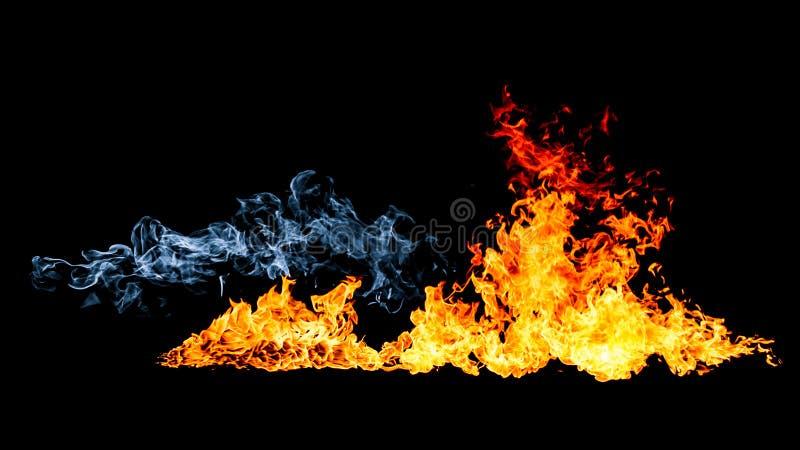 Stralen van brand royalty-vrije stock afbeelding