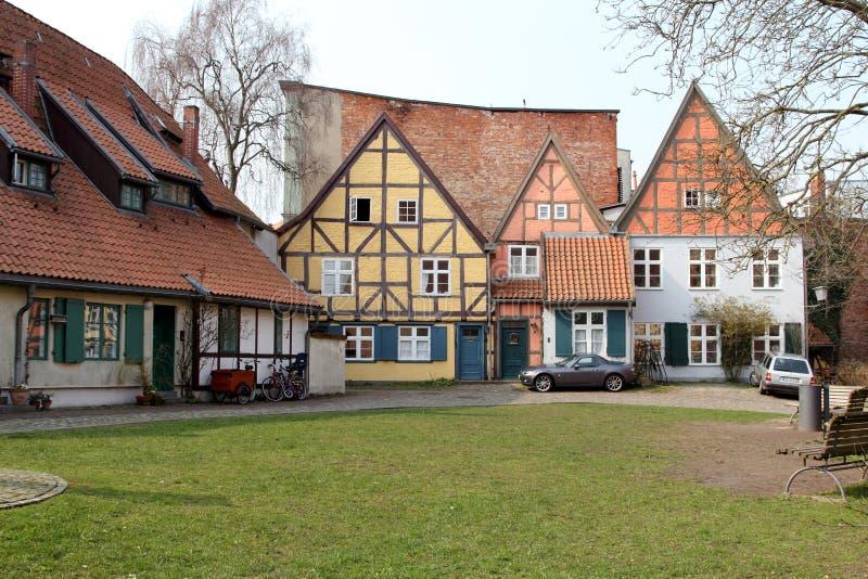 Stralsund, Allemagne image libre de droits