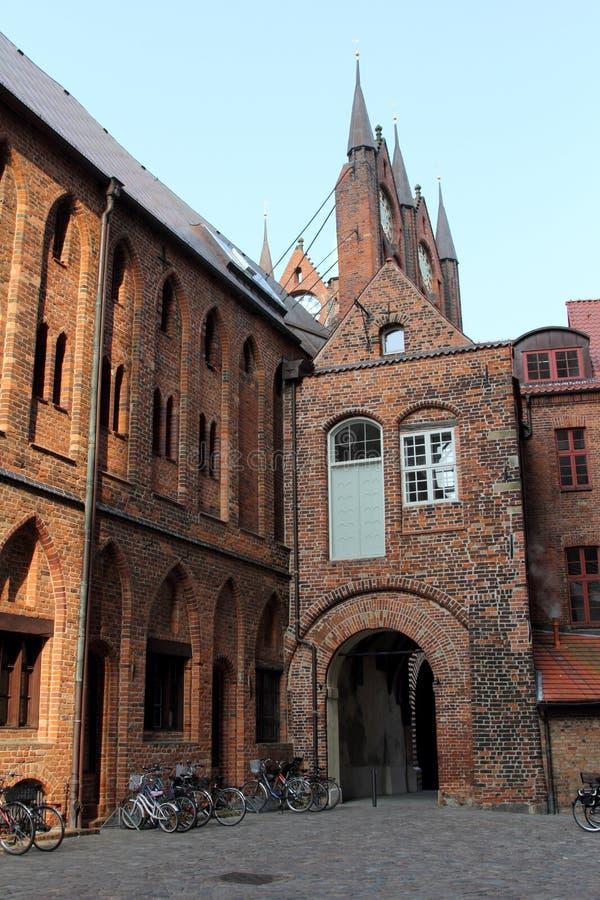 Stralsund, Germania immagini stock libere da diritti