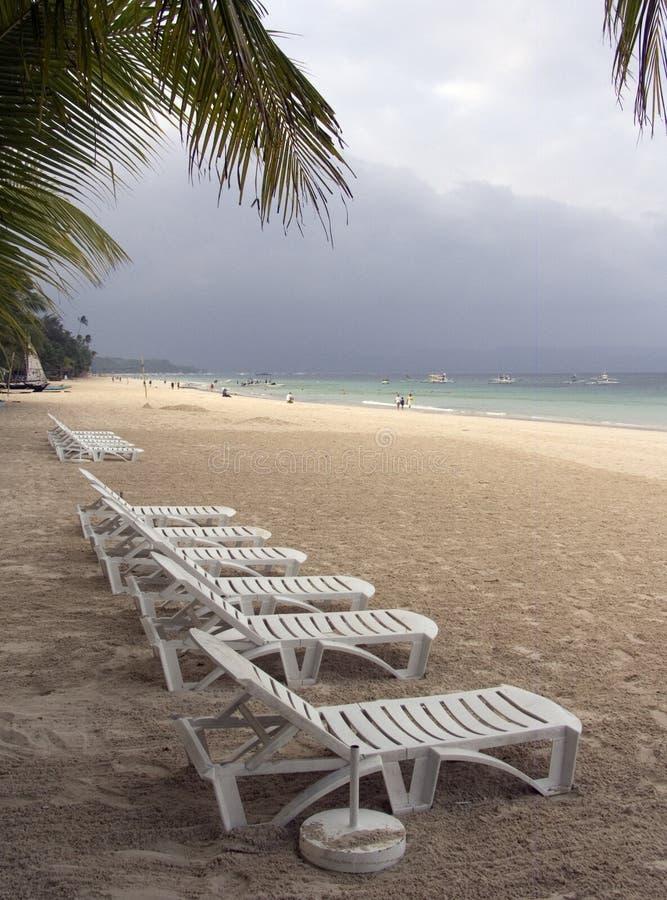 Strand 1 van Boracay stock foto's