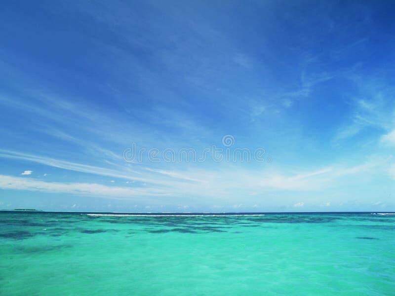 Strand stock afbeelding