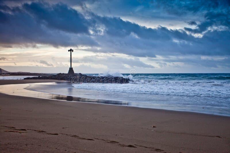 Strand 2 van Tenerife stock foto's