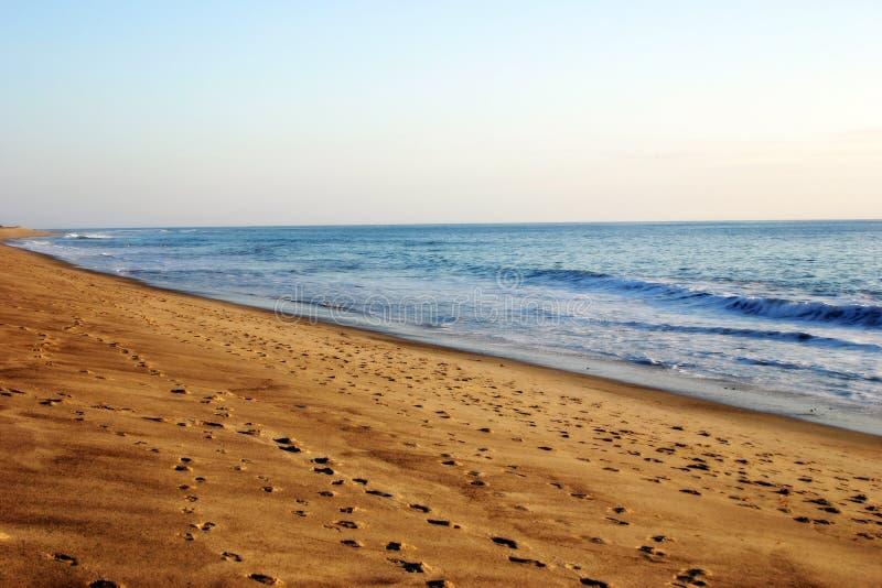Download Strand stock foto. Afbeelding bestaande uit kustlijn, afdruk - 31444