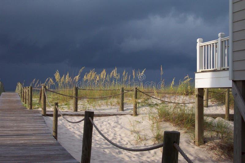 Am Strand stockfotografie