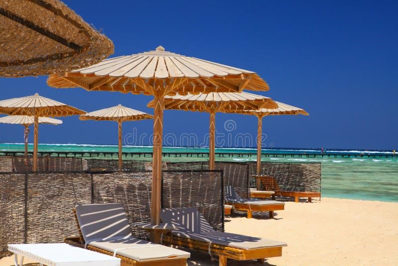 Strand royalty-vrije stock afbeelding