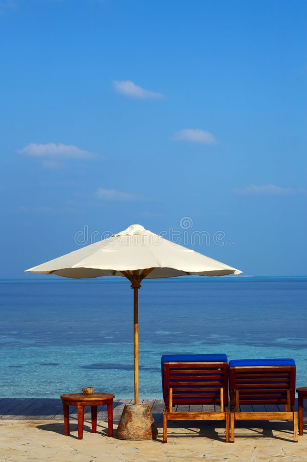 Strand auf einer Insel im Indischen Ozean stockfoto