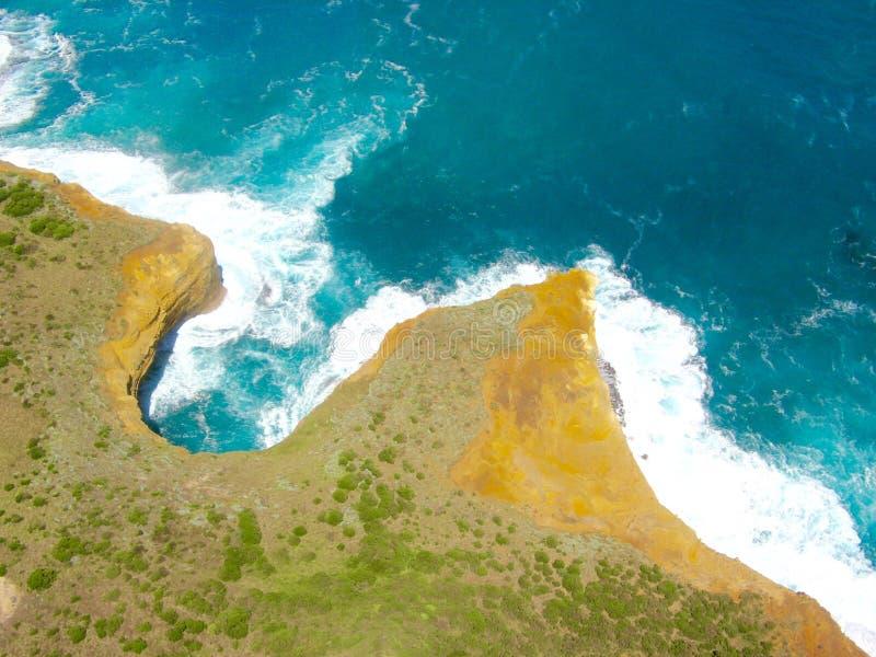 Strand in Australien - große Ozean Straße lizenzfreie stockfotos