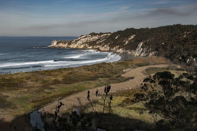 Strand av barayoen Spanien royaltyfri bild