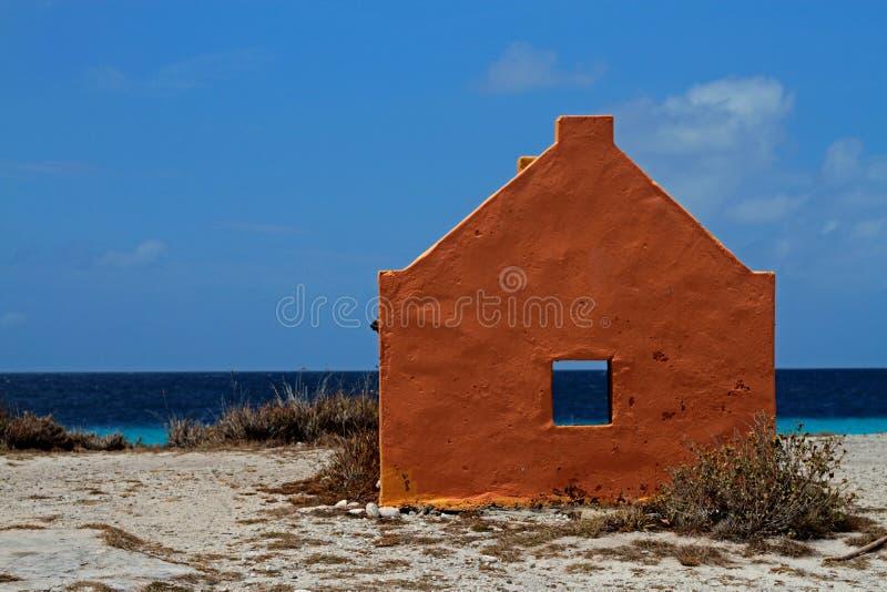 Strand av Curacao royaltyfri bild