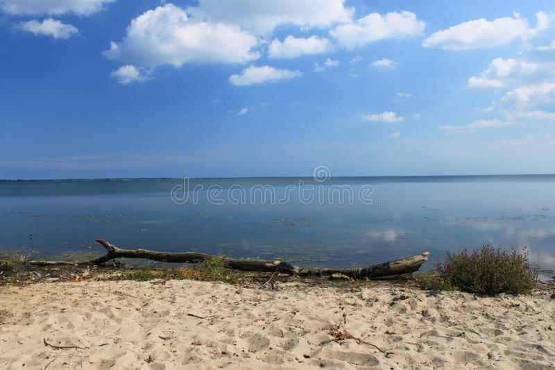 Strand av fjärden av pucken, Polen royaltyfria foton
