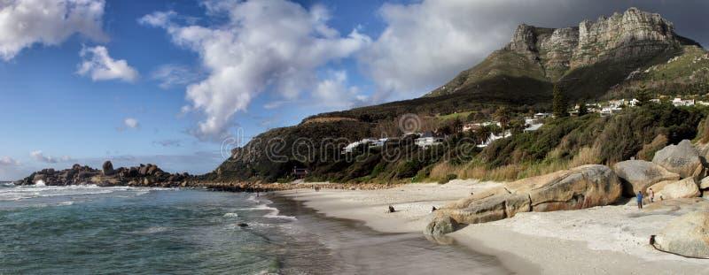 Strand av Llandudno, Cape Town arkivfoton