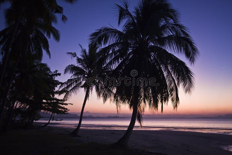 Strand av södra Thailand royaltyfria bilder