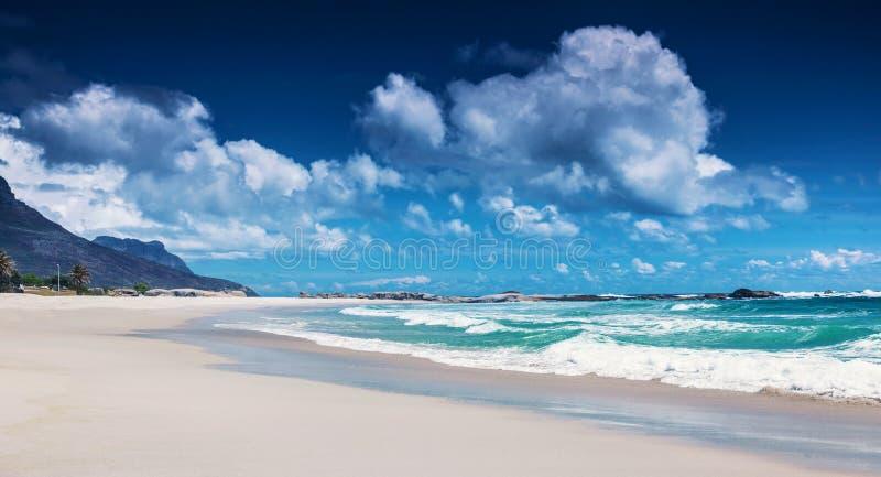 Strand av Sydafrika arkivfoto