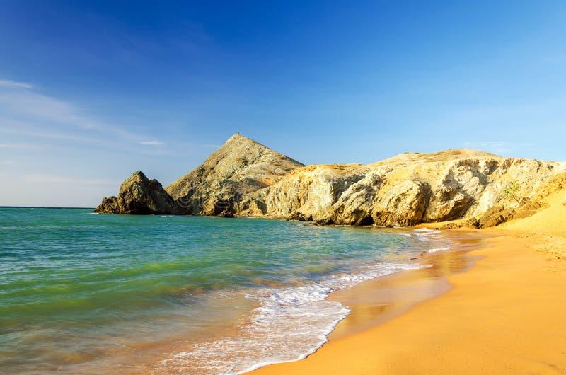 Strand bei Pilon de Azucar lizenzfreie stockfotografie