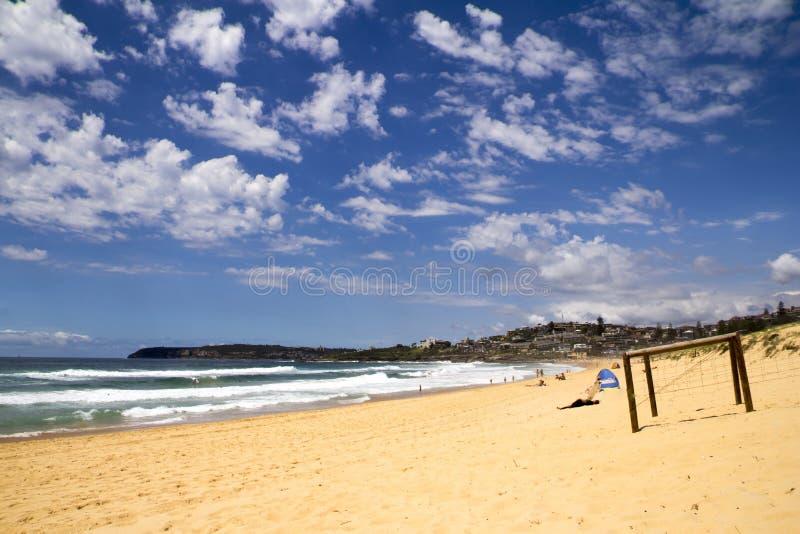 Strand bij Krulkrul stock afbeeldingen