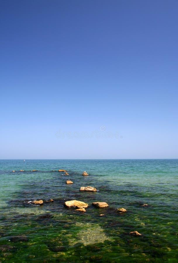 strand Black Sea arkivbild